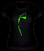 Женская футболка  Колба