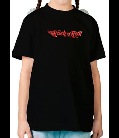 Детская футболка  Rock'n'Roll
