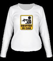 Женская футболка с длинным рукавом Drifter