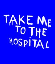 Мужская футболка с длинным рукавом Take me to the hospital
