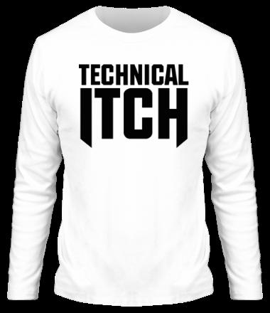 Мужская футболка с длинным рукавом Technical Itch