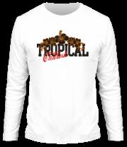 Мужская футболка с длинным рукавом Tropical