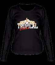 Женская футболка с длинным рукавом Tropical