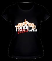 Женская футболка  Tropical