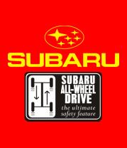 Мужская футболка с длинным рукавом Subaru