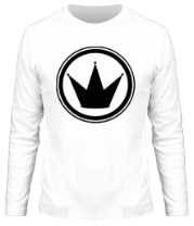 Мужская футболка с длинным рукавом Корона