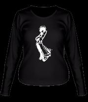Женская футболка с длинным рукавом Чувак