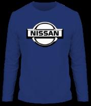 Мужская футболка с длинным рукавом Nissan (Ниссан) club