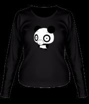Женская футболка с длинным рукавом Панда ОО