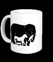 Кружка Слон-лошадь