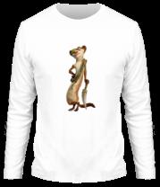 Мужская футболка с длинным рукавом Бак