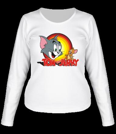 Женская футболка с длинным рукавом Tom & Jerry