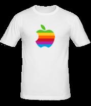 Мужская футболка  Apple