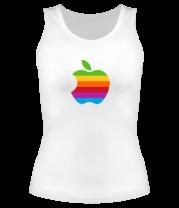 Женская майка борцовка Apple