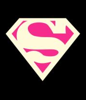 Женская майка борцовка Superman