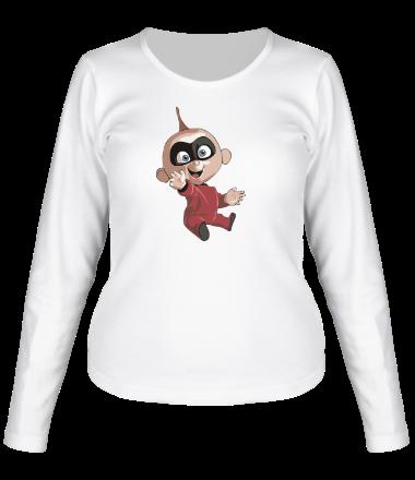 Женская футболка с длинным рукавом Джек-Джек Парр