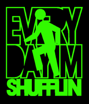 Мужская футболка с длинным рукавом Every day I'm SHUFFLIN