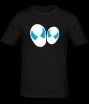Мужская футболка  Два пришельца