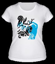 Женская футболка  Девушка