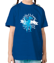 Детская футболка  Девушка