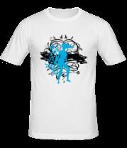 Мужская футболка  Девушка