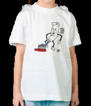 Детская футболка  Зубная паста