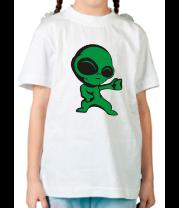 Детская футболка  Инопланетянин