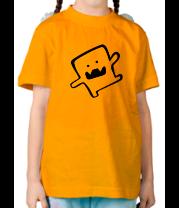 Детская футболка  Танцующее существо