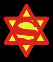 Женская футболка с длинным рукавом Супер Еврей