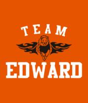 Мужская футболка  Team Edward
