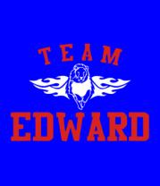 Женская футболка  Team Edward