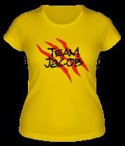Женская футболка  Team Jacob
