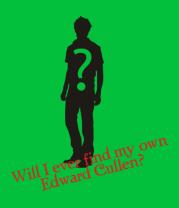 Женская футболка  Will i ever find my own Edward Cullen