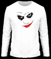 Мужская футболка с длинным рукавом Джокер