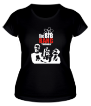 Женская футболка  Теория большого взрыва
