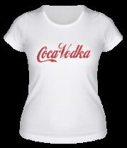 Женская футболка  Coca-Vodka