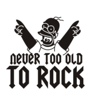 Шапка Никогда не стар для рока