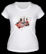 Женская футболка  Skate