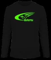 Мужская футболка с длинным рукавом Subaru World Rally Team