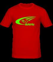 Мужская футболка  Subaru World Rally Team