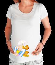 Футболка для беременных Будущий ребенок