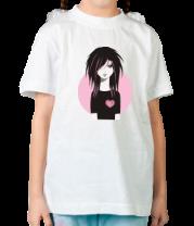 Детская футболка  Эмо