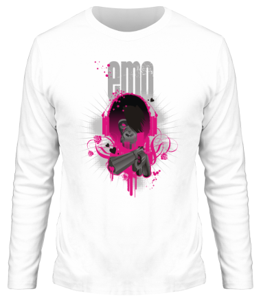 Мужская футболка с длинным рукавом Emo