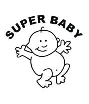 Футболка для беременных Super baby