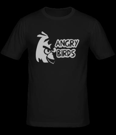 Мужская футболка  Angry Birds