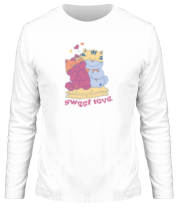 Мужская футболка с длинным рукавом Sweet Love