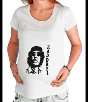 Футболка для беременных Муаммар Каддафи - KADDAFI