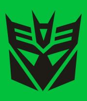 Женская футболка  Transformers - Decepticons