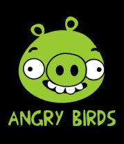 Футболка поло мужская Angry Birds