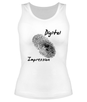 Женская майка борцовка Digital Impression